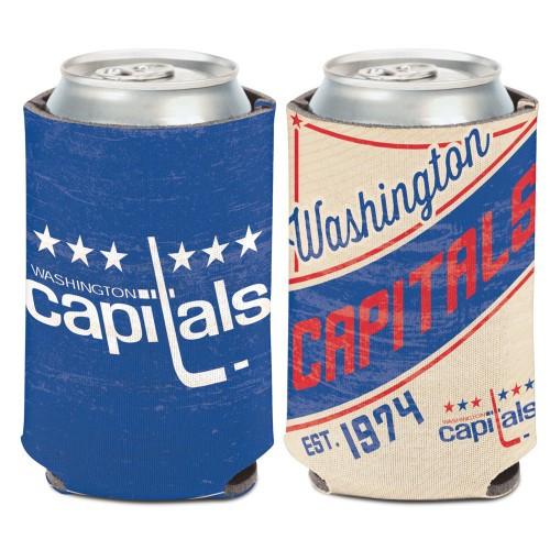 Washington Capitals Can Cooler Vintage Design Special Order