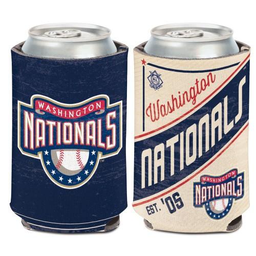 Washington Nationals Can Cooler Vintage Design Special Order