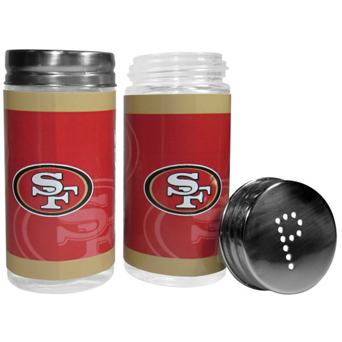 San Francisco 49ers Salt and Pepper Shakers Tailgater