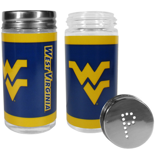 West Virginia Mountaineers Salt and Pepper Shakers Tailgater Special Order
