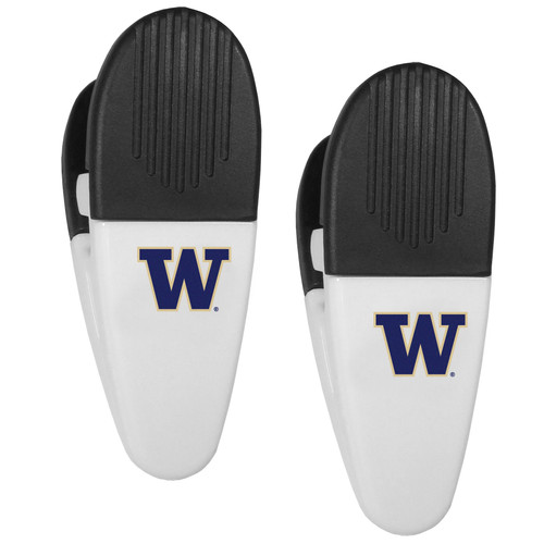 Washington Huskies Chip Clips 2 Pack Special Order