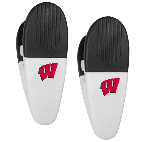Wisconsin Badgers Chip Clips 2 Pack Special Order