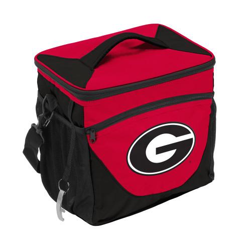 Georgia Bulldogs Cooler 24 Can