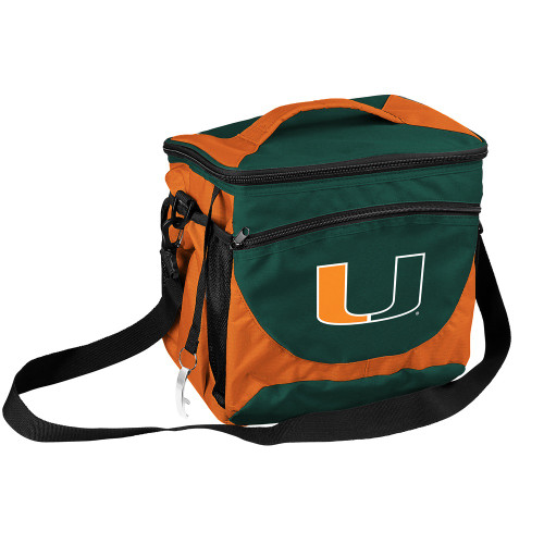 Miami Hurricanes Cooler 24 Can Special Order
