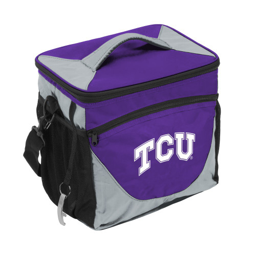 TCU Horned Frogs Cooler 24 Can Special Order