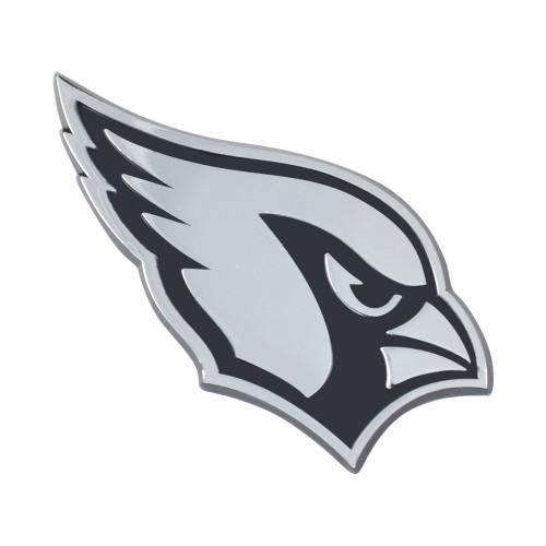 Arizona Cardinals Auto Emblem Premium Metal Chrome
