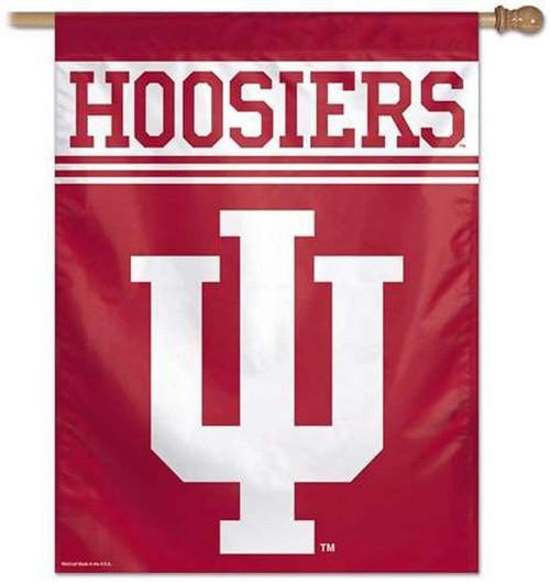 Indiana Hoosiers Banner 27x37 Vertical