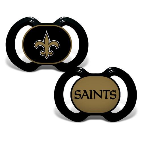 New Orleans Saints Pacifier 2 Pack Alternate