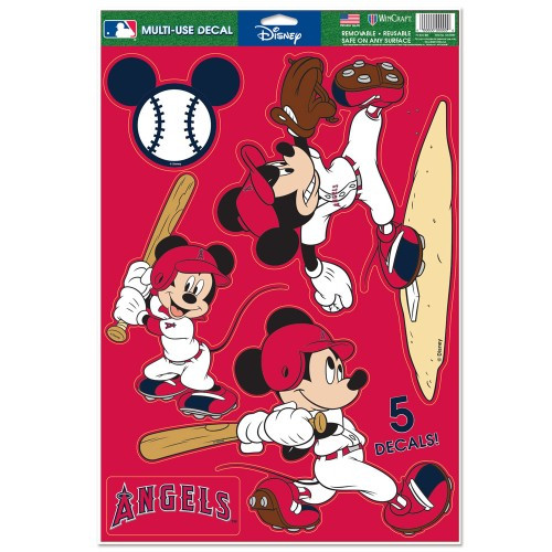 Los Angeles Angels Decal 11x17 Multi Use Disney Design Special Order