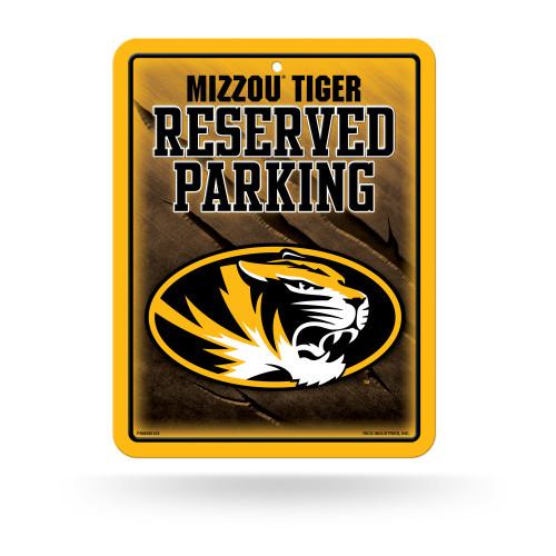Missouri Tigers Sign Metal Parking Alternate Design Special Order