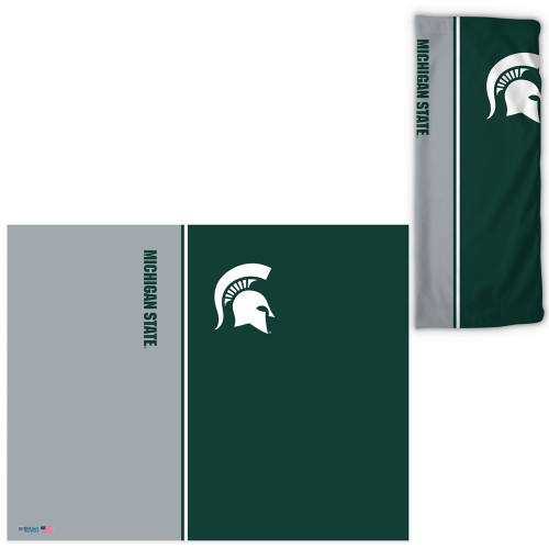 Michigan State Spartans Fan Wrap Face Covering