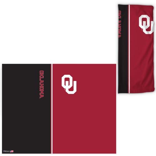 Oklahoma Sooners Fan Wrap Face Covering