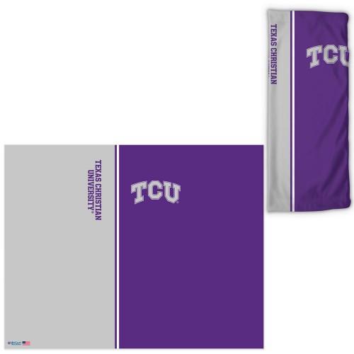 TCU Horned Frogs Fan Wrap Face Covering