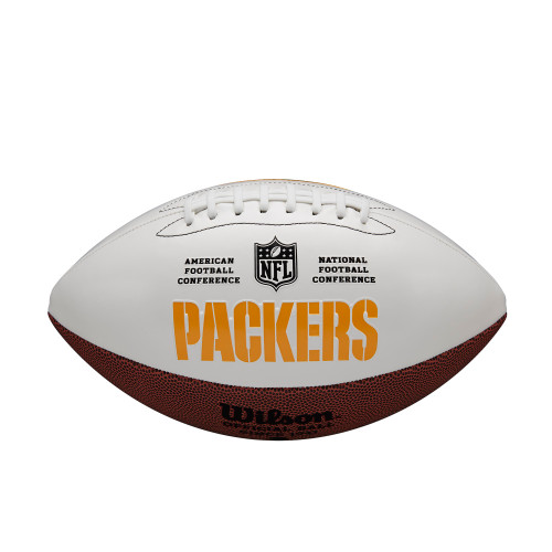 Green Bay Packers Football Full Size Autographable