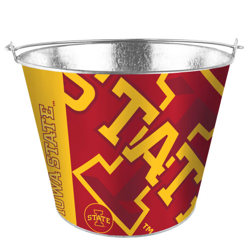 Iowa State Cyclones Bucket 5 Quart Hype Design