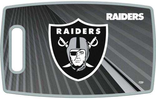Las Vegas Raiders Cutting Board Large Alternate Design