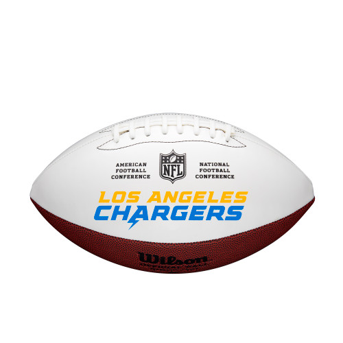 Los Angeles Chargers Football Full Size Autographable