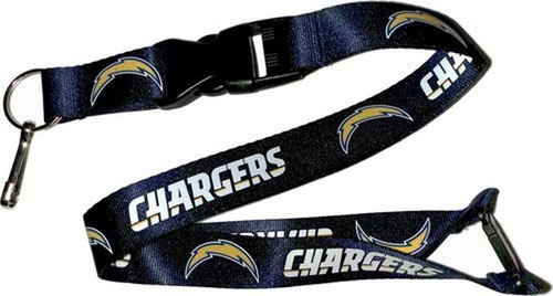 Los Angeles Chargers Lanyard Light Blue Alternate