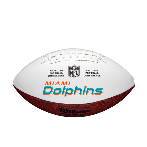 Miami Dolphins Football Full Size Autographable
