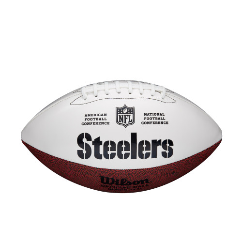Pittsburgh Steelers Football Full Size Autographable