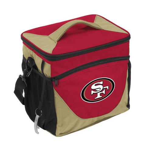 San Francisco 49ers Cooler 24 Can Alternate Design