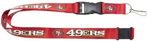 San Francisco 49ers Lanyard Red Alternate