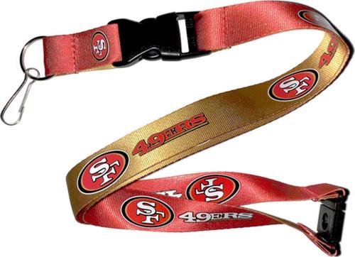 San Francisco 49ers Lanyard Reversible Alternate