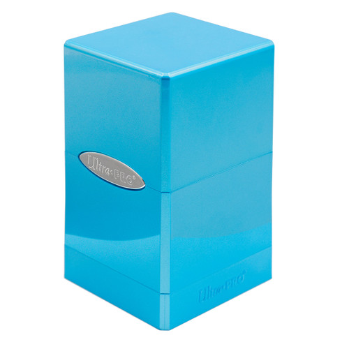 Satin Tower Deck Box - Hi-Gloss - Topaz