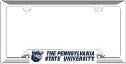 Penn State Nittany Lions License Plate Frame Plastic Special Order