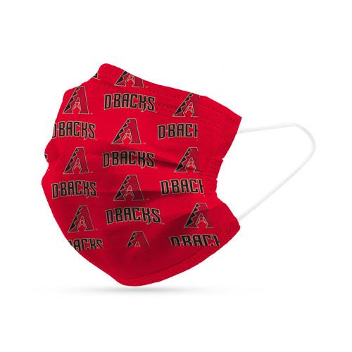 Arizona Diamondbacks Face Mask Disposable 6 Pack Special Order