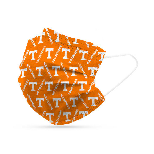 Tennessee Volunteers Face Mask Disposable 6 Pack