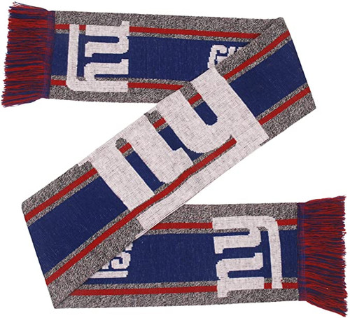 New York Giants Scarf Big Logo Wordmark Gray