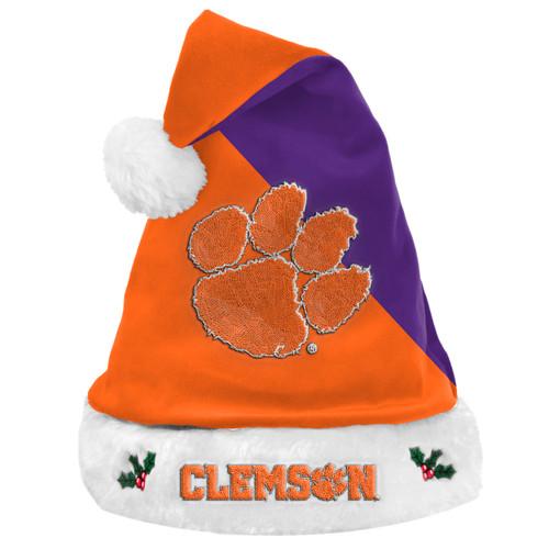 Clemson Tigers Santa Hat Basic 2020