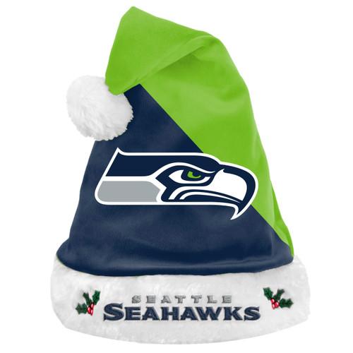 Seattle Seahawks Santa Hat Basic 2020