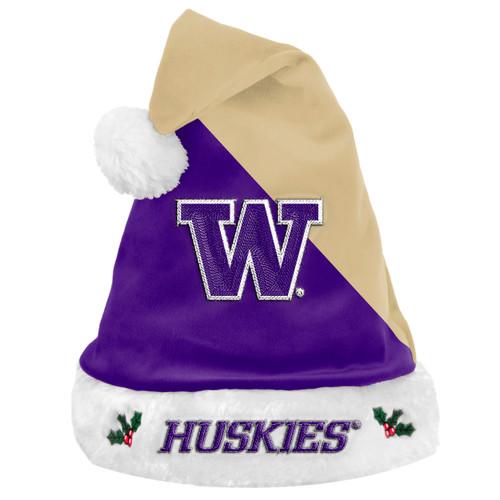 Washington Huskies Santa Hat Basic 2020