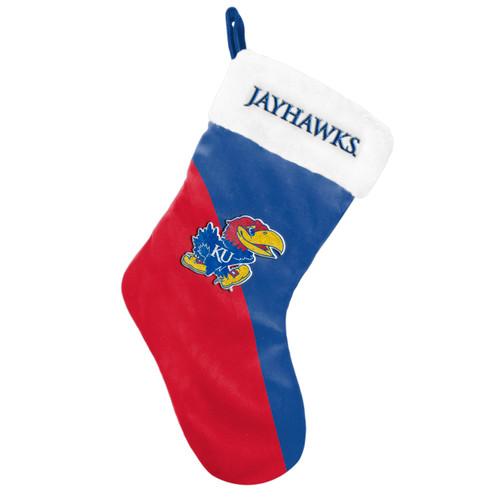 Kansas Jayhawks Holiday Stocking Basic 2020