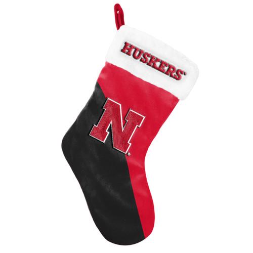 Nebraska Cornhuskers Holiday Stocking Basic 2020