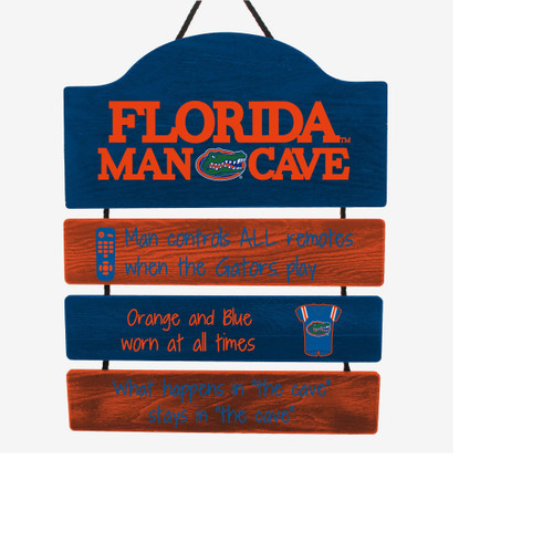 Florida Gators Sign Wood Man Cave Design