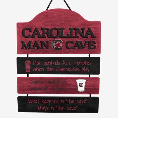 South Carolina Gamecocks Sign Wood Man Cave Design