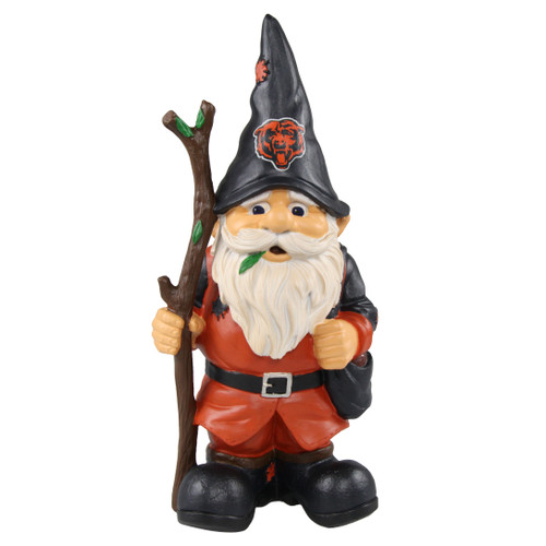 Chicago Bears Gnome Holding Stick