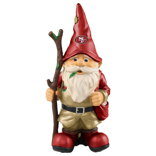 San Francisco 49ers Gnome Holding Stick