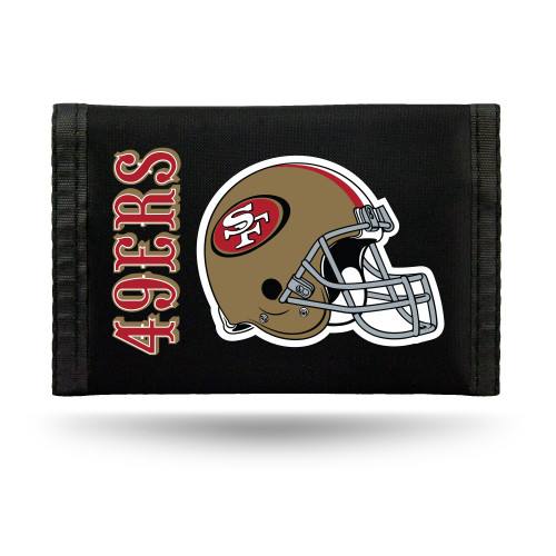 San Francisco 49ers Wallet Nylon Trifold