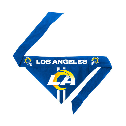 Los Angeles Rams Pet Bandanna Size L