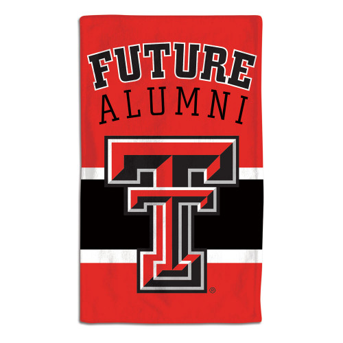 Texas Tech Red Raiders Baby Burp Cloth 10x17 Special Order