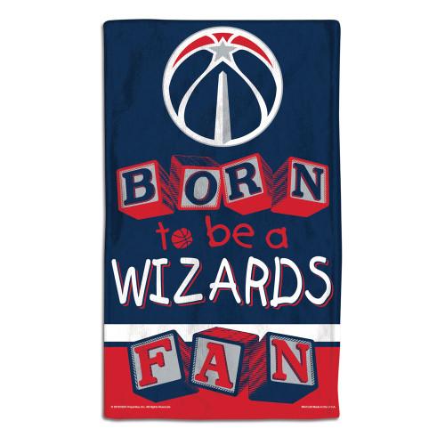 Washington Wizards Baby Burp Cloth 10x17 Special Order
