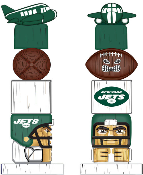 New York Jets Tiki Totem
