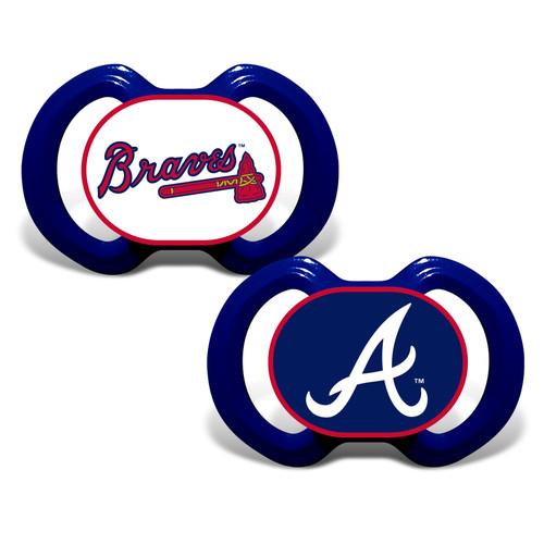Atlanta Braves Pacifier 2 Pack