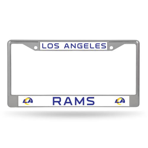 Los Angeles Rams License Plate Frame Chrome