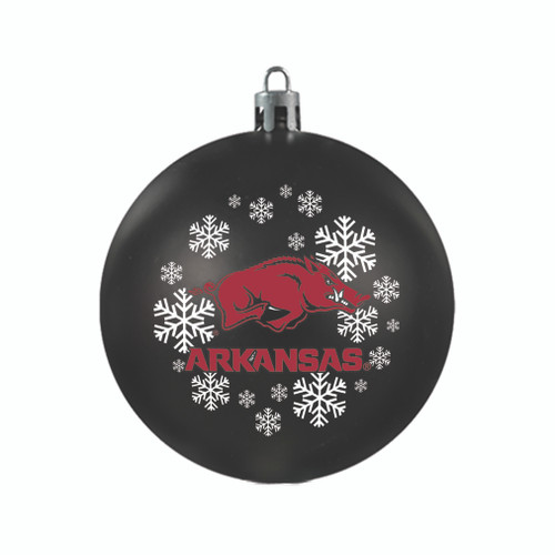 Arkansas Razorbacks Ornament Shatterproof Ball Special Order