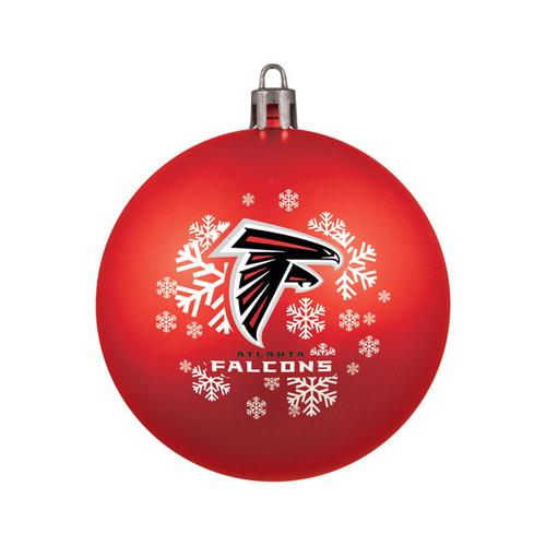 Atlanta Falcons Ornament Shatterproof Ball Special Order